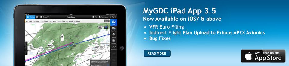 MyGDC iPad App Banner